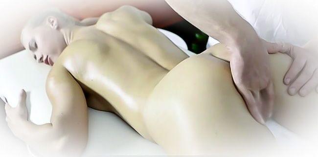 неожиданный массаж интимных зон